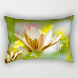 Pastel Meadow Rectangular Pillow
