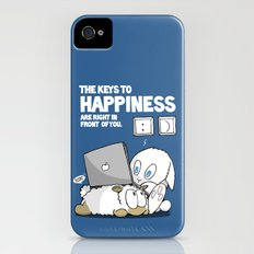 The Keys to Happiness... Slim Case iPhone (4, 4s)