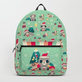 d6fe1b88f84d Holiday Woodland Bear   Cute Animal Backpack