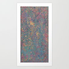 Atolls Art Print