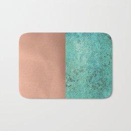 NEW EMOTIONS - ROSE & TEAL Bath Mat