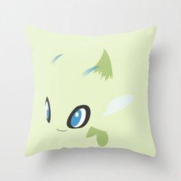 Celebi Throw Pillow