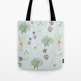 My Mom Plants Tote Bag