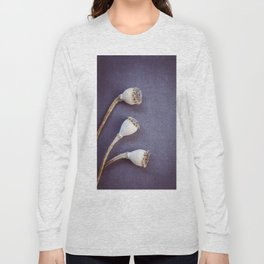 Poppy Seed Heads Long Sleeve T-shirt