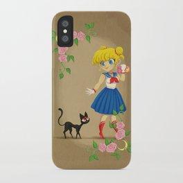 Retro Sailor Moon iPhone Case