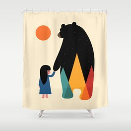 Go Home Shower Curtain