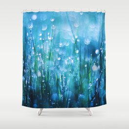 Crystals of Life Shower Curtain