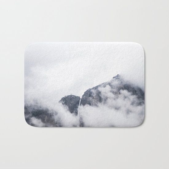 Clouds on Clouds Bath Mat