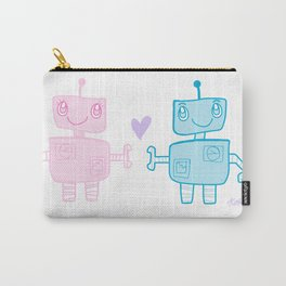 robots in love Carry-All Pouch