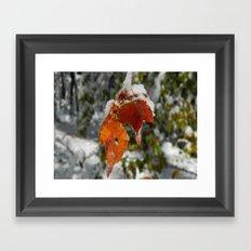 The Last of Autumn 3 Framed Art Print