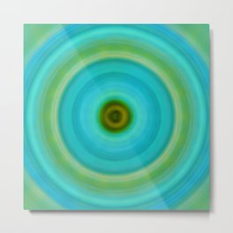 Soft Healing - Energy Art By Sharon Cummings Metal Print
