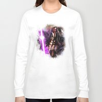 darth Long Sleeve T-shirts featuring Darth Revan by Vincent Vernacatola