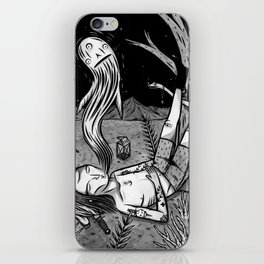 BOY WHO WHISTLES IN HIS SLEEP iPhone Skin