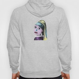 Robot with a Pearl Earring Hoody