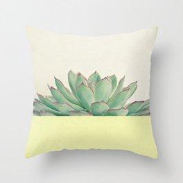 Succulent Dip II Throw Pillow