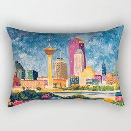 San Antonio Celebration Rectangular Pillow