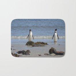 Magellanic Penguins Bath Mat