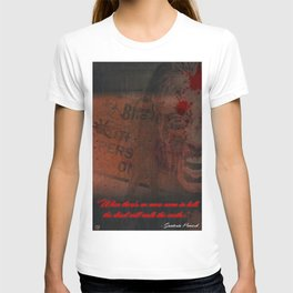 When there is no more room in hell, the dead will walk the earth T-shirt