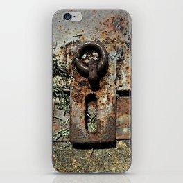 Old Unlocked Lock iPhone Skin