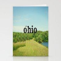 ohio Stationery Cards featuring Hello Ohio by KimberosePhotography