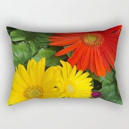 Colorful Daisies Rectangular Pillow