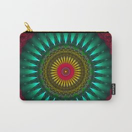 Gothic Mandala Carry-All Pouch