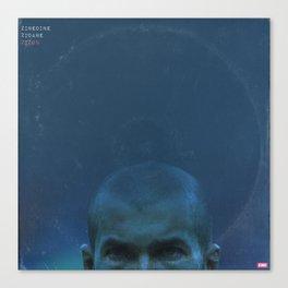 LPFC: Zinedine Zidane Canvas Print