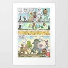 GAMMA page 7 Art Print