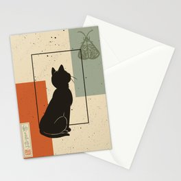 Wait for moving Stationery Cards