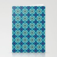 indigo Stationery Cards featuring Indigo  by Laura Ruth