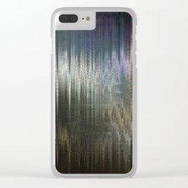 Glytch 02 Clear iPhone Case