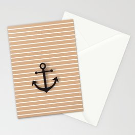 Wall Decor Bathroom Decoration Anchor Poster brown and black Sea Theme Ocean Boat Home Decor Stationery Cards