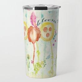 Bloom True by Terri Conrad Designs Travel Mug