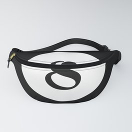 Eight ball pattern Fanny Pack