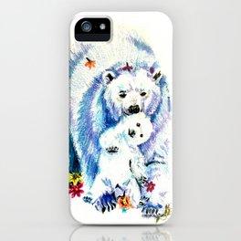 Mama Bear Lovin iPhone Case