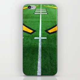 Rugby playing field iPhone Skin