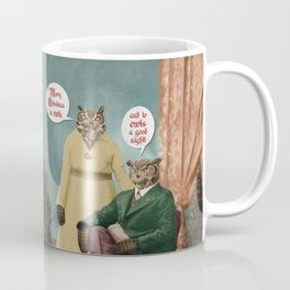 Merry Christmas to Owls, and to Owls a Good Night!! Coffee Mug