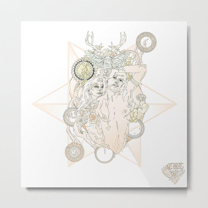 T E N//A2 Metal Print