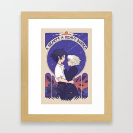 Something I Want to Protect (Light Version) Framed Art Print