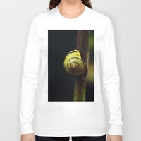 snail Long Sleeve T-shirts featuring Snail by LoRo  Art & Pictures