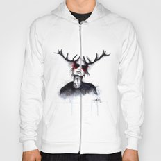 Antlers // Fashion Illustration Hoody