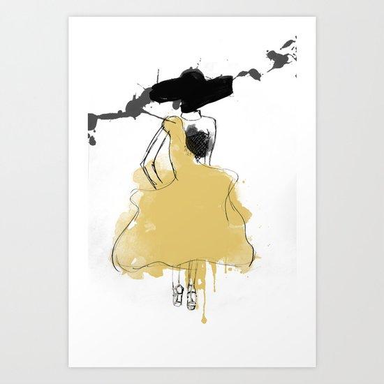 McQueen Art Print