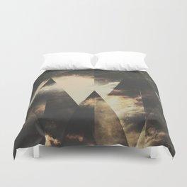 The mountains are awake Duvet Cover