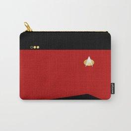 Star Trek: TNG Red Lt. Commander Uniform Carry-All Pouch
