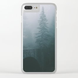 Stone Bridge Clear iPhone Case