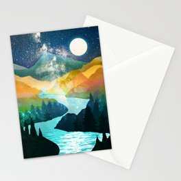 Under the Starlight Stationery Cards