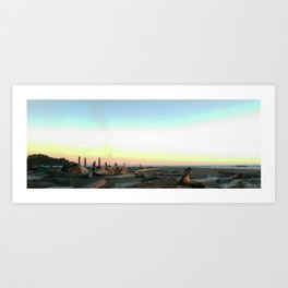 Second Beach Art Print
