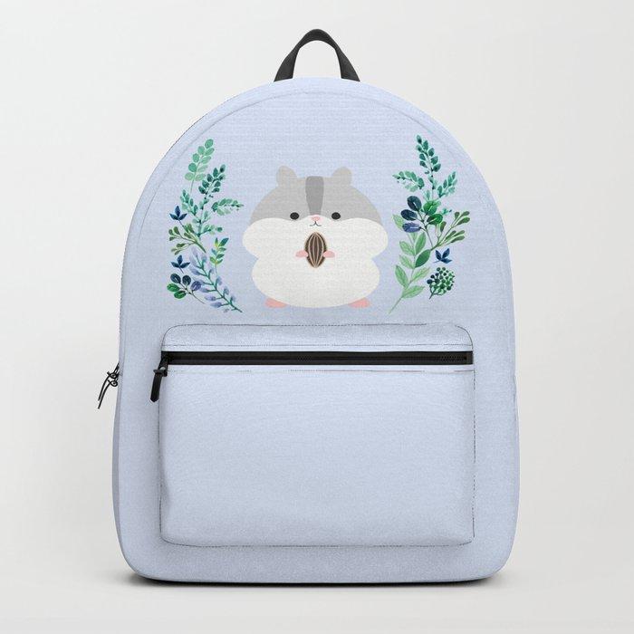 Furball in the garden Backpack