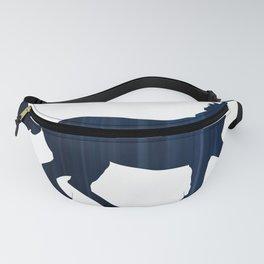 Horse - Running - Dark Blue Fanny Pack