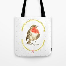 winterbird Tote Bag
